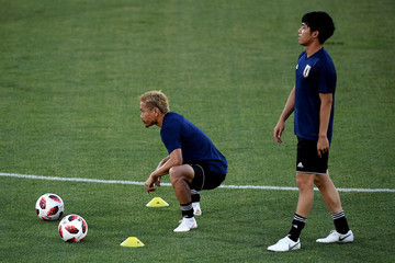 Yuto Nagatomo Japan Training Session & Press Conference