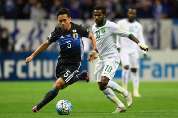 Yuto Nagatomo Japan v Saudi Arabia - 2018 FIFA World Cup Qualifier