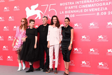Yuval Scharf 'A Letter To A Friend In Gaza And Tramway In Jerusalem' Photocall - 75th Venice Film Festival