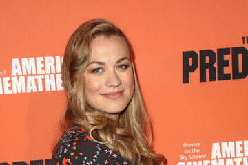 Yvonne Strahovski Screening Of 20th Century Fox's 'The Predator' - Arrivals