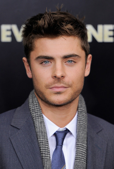 Zac Efron attends the   New Zac Efron Hair New Years Eve