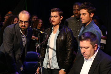 Zac Efron Inside the MTV Movie Awards