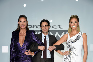 Zac Posen Heidi Klum Meets Her Double: New Project Runway Experience Launches at Madame Tussauds New York