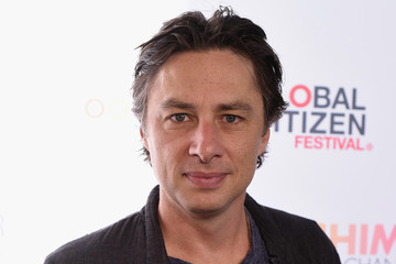 Zach Braff 2015 Global Citizen Festival in Central Park to End Extreme Poverty by 2030 - VIP Lounge