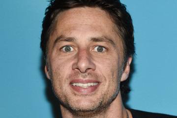 Zach Braff 'An Act of God' Broadway Opening Night - Arrivals And Curtain Call