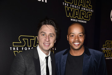 Zach Braff Premiere of 'Star Wars: The Force Awakens' - Red Carpet
