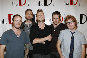 Zach Filkins Drew Brown OneRepublic Performs At The D Las Vegas To Celebrate Grand Opening