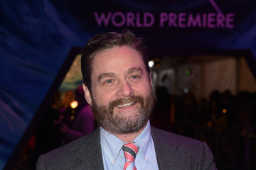 Zach Galifianakis Premiere Of Disney's 'A Wrinkle In Time' - Red Carpet