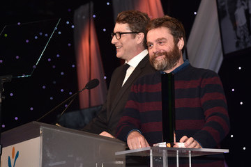 Zach Galifianakis Venice Family Clinic's 36th Annual Silver Circle Gala - Inside