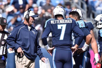 Zach Mettenberger Marcus Mariota Miami Dolphins v Tennessee Titans