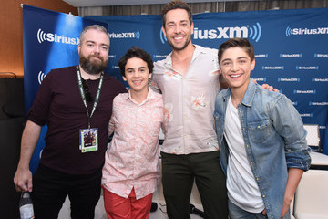 Zachary Levi SiriusXM's Entertainment Weekly Radio Broadcasts Live From Comic Con in San Diego