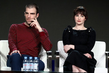 Zachary Quinto Ashleigh Cummings 2019 Winter TCA Tour - Day 12