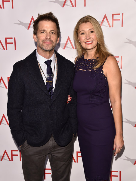 18th Annual AFI Awards - Arrivals [red,premiere,suit,event,formal wear,tuxedo,carpet,dress,white-collar worker,arrivals,zack snyder,deborah snyder,los angeles,four seasons hotel,california,beverly hills,afi awards,l]