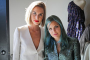 Fashion Bloggers Mallory Llewellyn and Tallulah Willis attend the Zadig & Voltaire Malibu store opening on May 31, 2014 in Malibu, California.