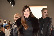 Carol Alt attends the Zang Toi front row during New York Fashion Week: The Shows at Gallery II at Spring Studios on February 13, 2019 in New York City.
