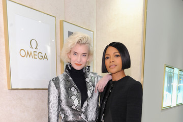 Zanita Whittington OMEGA Unveils 'Her Time' Pop-Up Boutique with Naomie Harris