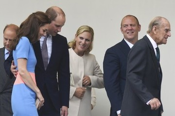 Zara Phillips The Patron's Lunch to Celebrate the Queen's 90th Birthday