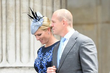 Zara Phillips National Service Of Thanksgiving To Celebrate The Queen's 90th Birthday
