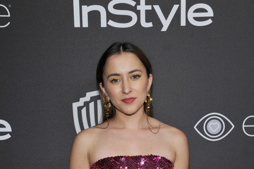 Zelda Williams The 2017 InStyle and Warner Bros. 73rd Annual Golden Globe Awards Post-Party - Red Carpet