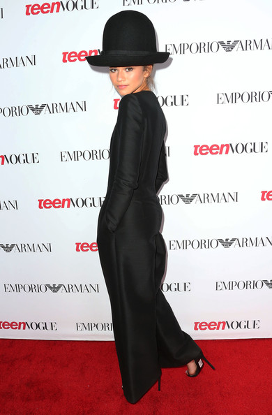 Zendaya Coleman Recording artist Zendaya attends the Teen Vogue Young Hollywood Party on September 26, 2014 in Los Angeles, California.