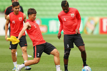Zhang Wei Shanghai SIPG Training Session