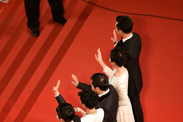 Zhang Yi 'Shan He Gu Ren' Premiere - The 68th Annual Cannes Film Festival