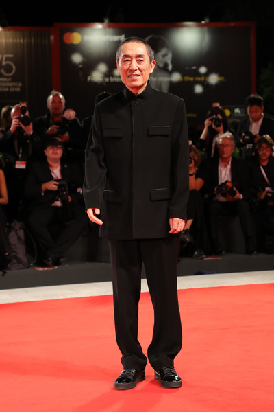 'Ying (Shadow)' And 2018 Jaeger-LeCoultre Glory To The Filmaker Award to Zhang Yimou Red Carpet Arrivals - 75th Venice Film Festival []
