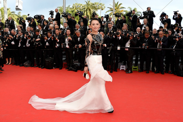 'Grace of Monaco' Premieres at Cannes [grace of monaco,red carpet,carpet,flooring,premiere,event,dress,fashion,ceremony,gown,haute couture,premiere,zhang ziyi,cannes,france,opening ceremony,the 67th annual cannes film festival,opening ceremony]