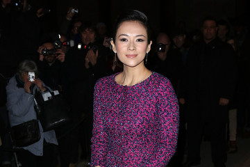 Zhang Ziyi Arrivals at the Giorgio Armani Prive Show