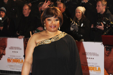 Zindzi Mandela 'Mandela: Long Walk to Freedom' Screening