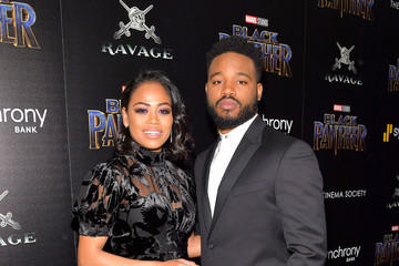 Zinzi Evans The Cinema Society Hosts a Screening of Marvel Studios' 'Black Panther'
