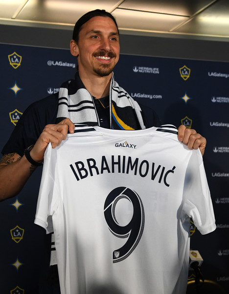 Los Angeles Galaxy Introduce Zlatan Ibrahimovic