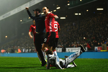 Zlatan Ibrahimovic Blackburn Rovers v Manchester United - The Emirates FA Cup Fifth Round
