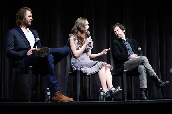 MoMA's Contenders Screening Of 'The Ballad Of Buster Scruggs' [performance,event,talent show,performing arts,fun,conversation,stage,convention,music artist,musician,actors,tim blake nelson,bill heck,zoe kazan,stage,l-r,moma,contenders screening of the ballad of buster scruggs,contenders,screening]