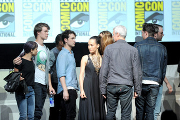 Zoe Kravitz Christian Madsen Comic-Con Panels for 'Ender's Game' and 'Divergent'