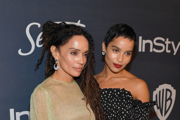 Zoe Kravitz Lisa Bonet The 2020 InStyle And Warner Bros. 77th Annual Golden Globe Awards Post-Party - Red Carpet