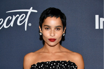 Zoe Kravitz 21st Annual Warner Bros. And InStyle Golden Globe After Party - Arrivals
