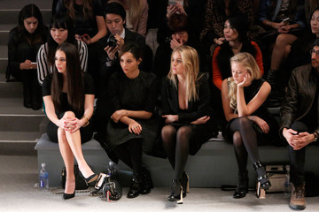 Zoe Kravitz Jill Stuart - Front Row - Fall 2013 Mercedes-Benz Fashion Week