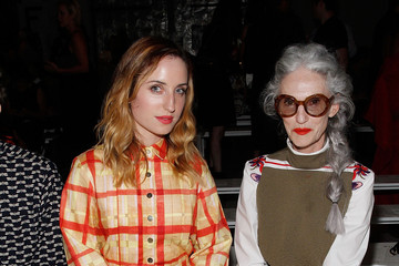Zoe Lister Jones Suno - Front Row - Mercedes-Benz Fashion Week Spring 2015