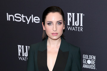 Zoe Lister Jones FIJI Water at the Hollywood Foreign Press Association and InStyle's Celebration of the 2018 Golden Globe Awards Season