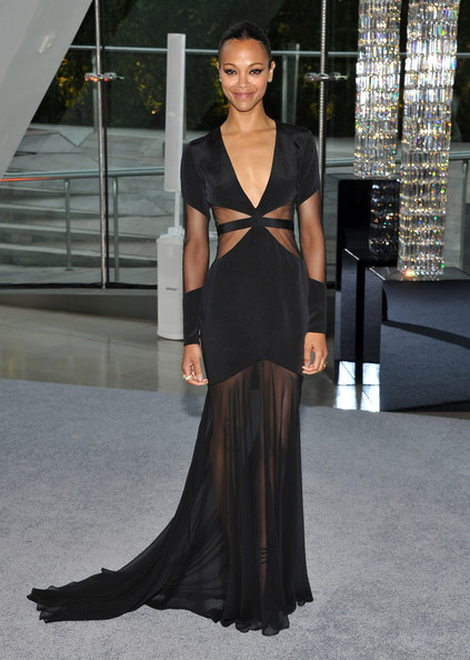 Zoe Saldana - 2012 CFDA Fashion Awards - Cocktails