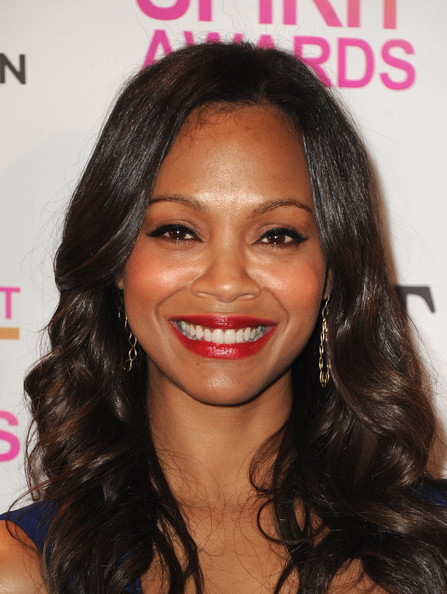 Zoe Saldana - 2013 Film Independent Spirit Awards Nominations Press Conference