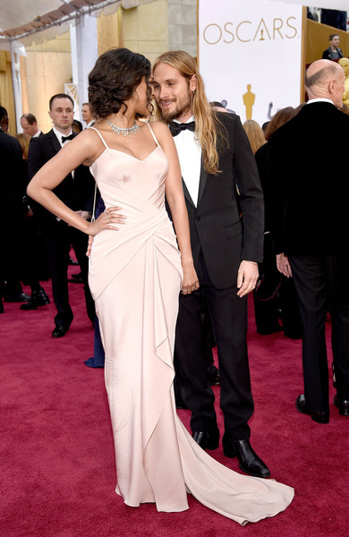 Zoe Saldana - Arrivals at the 87th Annual Academy Awards — Part 3