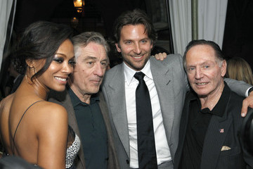 Zoe Saldana Bradley Cooper SILVER LININGS PLAYBOOK Event In LA With David O. Russell, Bradley Cooper And Robert DeNiro, Hosted By Lexus And Purity Vodka