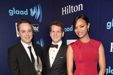 Zoe Saldana Backstage - 26th Annual GLAAD Media Awards