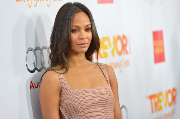 "Zoe Saldana - ""Trevor Live"" Honoring Katy Perry And Audi Of America For The Trevor Project - Arrivals"