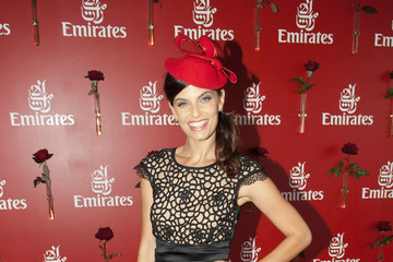 Zoe Ventoura Celebrities Attend Emirates Doncaster Day