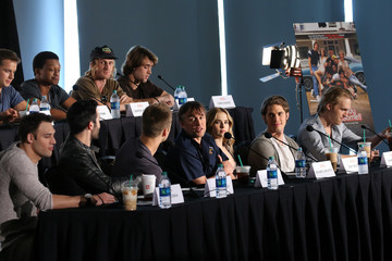 Zoey Deutch Glen Powell 'Everybody Wants Some' Press Conference - 2016 SXSW Music, Film + Interactive Festival