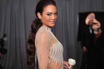 Zuleyka Rivera 60th Annual GRAMMY Awards - Red Carpet