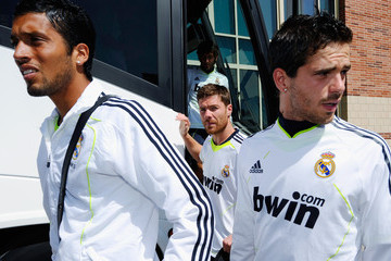 Ezequiel Marcelo Garay adidas Soccer Clinic with Real Madrid